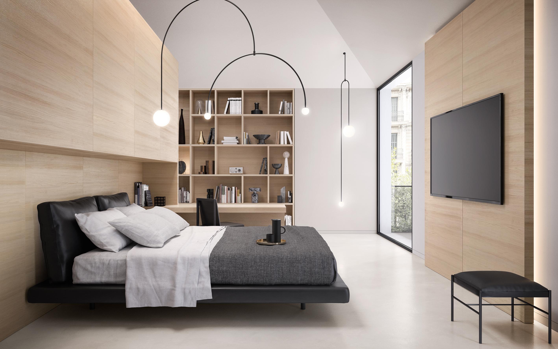 18-coordinati-garofoli-habitatservice_terlizzi-boiserie-libreria_Camera da letto