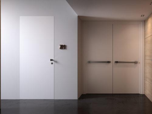 Filomuro: l'invisibile essenza delle porte